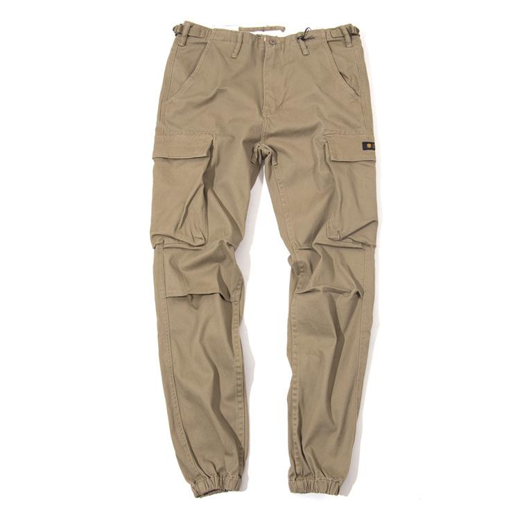 外贸多袋长裤男