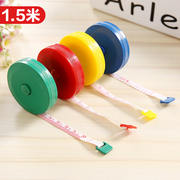 Cute mini tape measure measuring device measuring tape measuring waist circumference measuring tape ruler small measuring tape measuring tape measuring meter 1.5 m