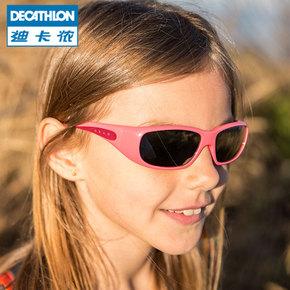 迪卡侬 7岁以上儿童太阳镜女 儿童男个性眼镜墨镜女童男童 QUOP