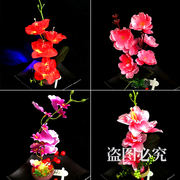 Hotel restaurant cold dish sashimi dishes garnish plate decoration flowers and plants artistic small ornaments embellished small flowers artificial flowers