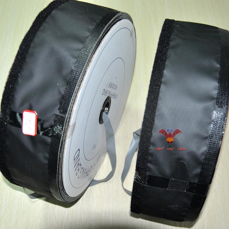 环保ROHS黑灰扣式结束带HPC-90 FTB-90 双色结束带 正反可用 50米