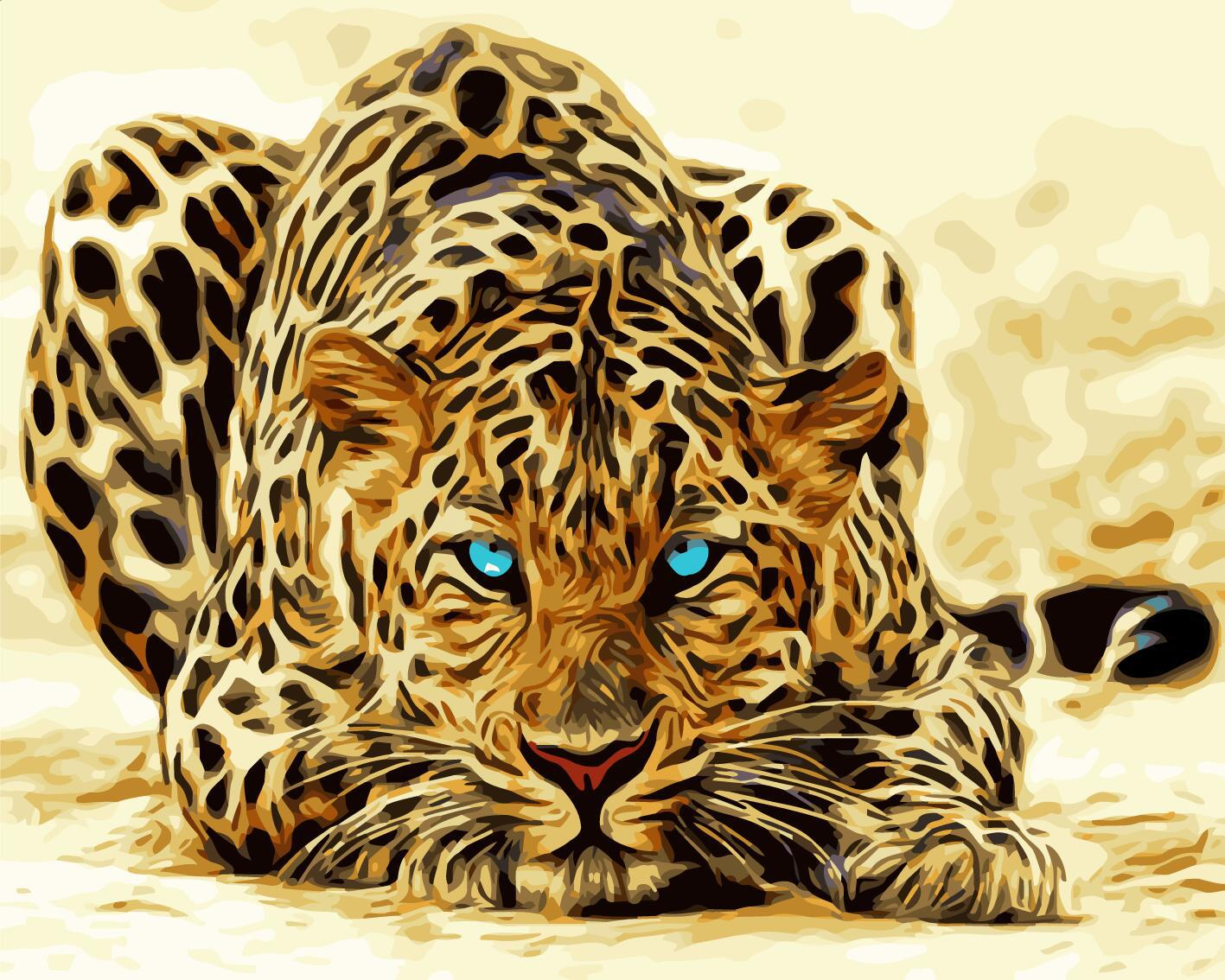 数码油画动物