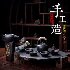 Chinese size home living room rectangular kung fu water bubble tea tray office simple tea set