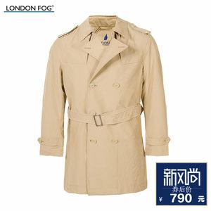 LONDON FOG/伦敦雾男大衣双排扣风衣 LW11WF105