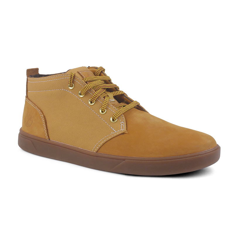 Timberland代购正品男鞋 添柏岚男士休闲真皮防滑中高帮板鞋A1115