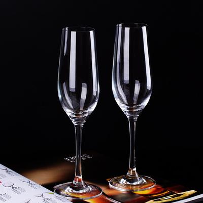 特价无铅水晶玻璃香槟杯套装家用红酒杯高脚杯鸡尾酒杯气泡杯包邮