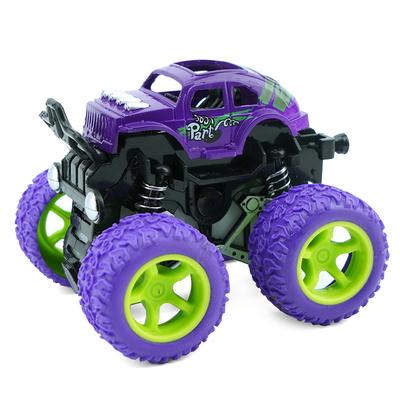 惯性四驱越野车儿童仿真模型车抗减震耐摔玩具车2-5岁宝宝小汽车