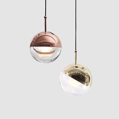 后现代卧室床头吊灯楼道餐厅吧台灯具简欧艺术设计师创意单头吊灯