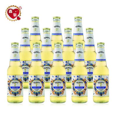 12瓶装进口tempt诱惑7号接骨木味露酒精酿水果味啤酒cider诱惑七