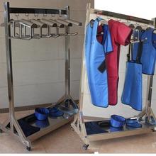 X射线防护服专用不锈钢医院防辐射服可移动放射科CT室衣架 铅衣架
