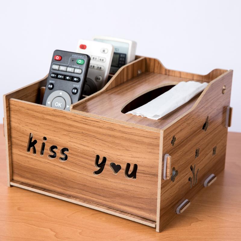 桌面客厅遥控器收纳盒创意