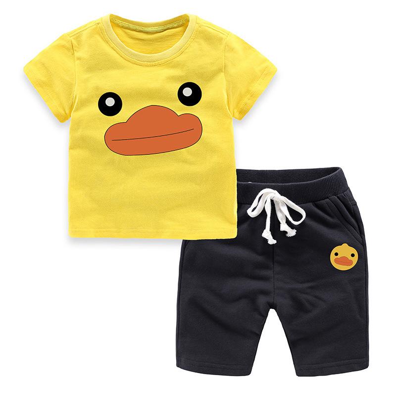 黄色小鸭t恤