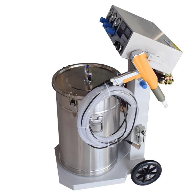 静电喷涂机/静电粉末喷塑机/喷粉机 大功率双推动变频智能喷涂机
