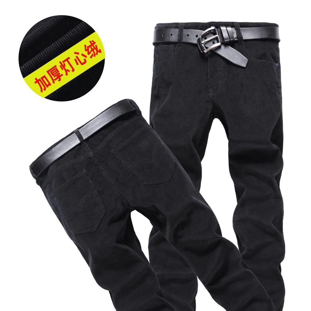 直筒灯芯绒直筒裤