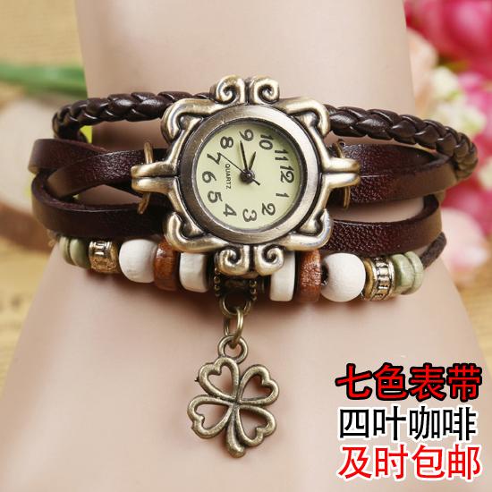 复古手表 女 缠绕 学生