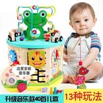 儿童大号绕珠1-3岁宝宝 多功能USB多功能数码宝音乐百宝箱男女孩