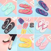 新款情侣款韩版人字拖女时尚外穿拖鞋男女夏夹脚防滑平跟沙滩凉拖
