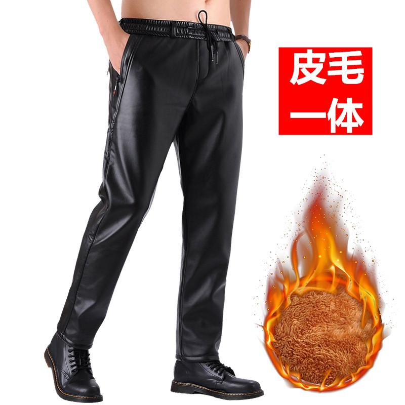 Кожаные брюки Артикул 601058879942