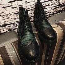 秋季马丁靴男士中帮靴子男韩版潮流军靴百搭高帮皮靴冬季加绒棉鞋