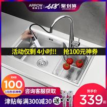 学校食堂幼儿园商用不锈钢洗碗池洗菜池洗手池盆长水池水槽单槽