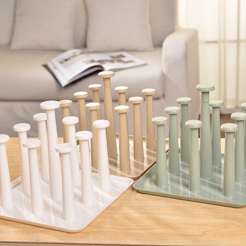 杯架水杯挂架创意水杯架家用沥水杯架玻璃杯架杯子架子沥水茶杯架