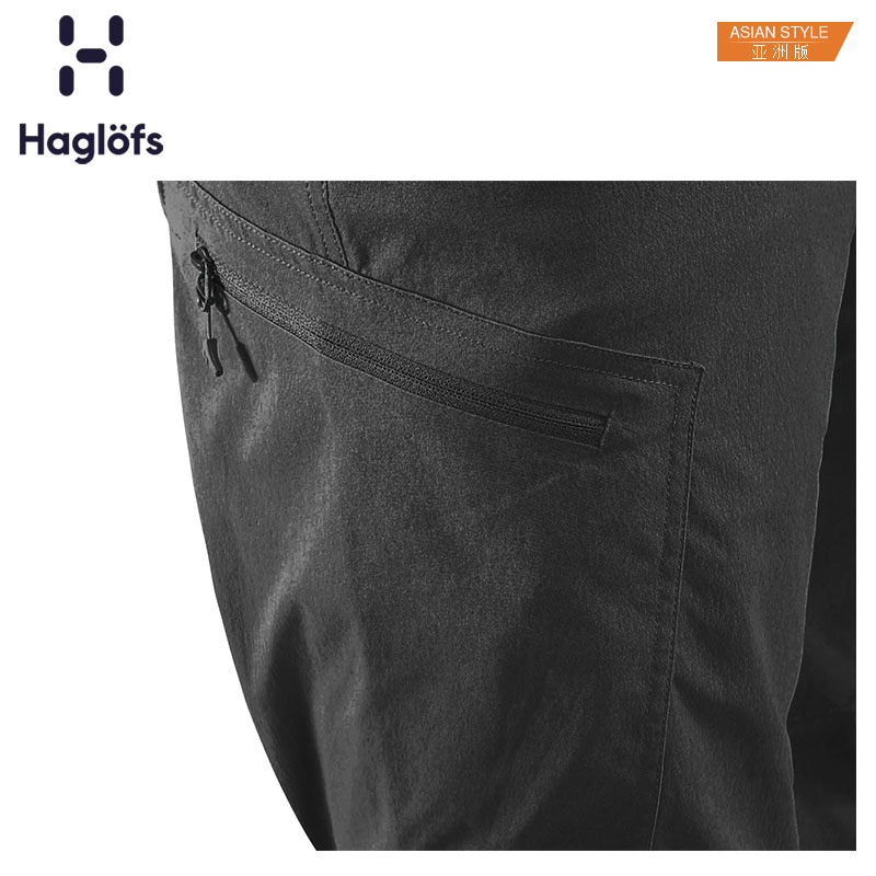 Haglofs火柴棍男款运动户外春秋耐磨舒适徒步长裤 603886 亚版