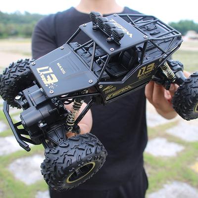 超大合金越野遥控四驱车高速RC遥控汽车男孩大脚攀爬赛车儿童玩具