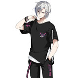 Jack Frontier Kamen Rider King Anime Peripheral Short Sleeve T-Shirt zio Binary Top Summer Pants