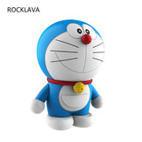 ROCK 哆 A dream wireless Bluetooth speaker home cartoon cute subwoofer creative gift Apple mobile phone mini stereo steel cannon portable outdoor car birthday gift girl