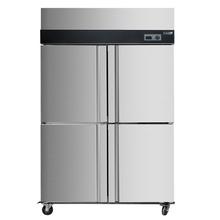 四门六门冰箱冰柜商用双门立式双温速冻冷藏冷冻保鲜柜厨房冷柜