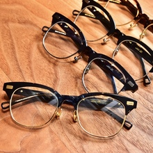 PAM Shawn Yue, the same eyeglass frame, male spectacle frame, female tide brow frame, half frame, tide and retro.