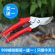Stainless steel garden scissors, thick branches, fruit trees, scissors, branches, pruning, gardening, scissors, multi-function, labor-saving