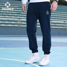 Qualified trousers Men's loose rope pulling in autumn and winter