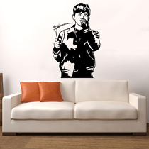 Idol star Zhang Jie Wall sticker paper Jay poster signature sticker student Dormitory bedroom decorative sticker NM771