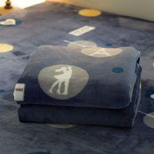 法兰绒毛毯珊瑚绒床单单件短毛绒铺在床上的双人毛绒毯子1.2/1.8m