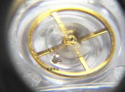 手表配件 明珠2813 8205擺輪 全擺 扒 機芯零件 8205機械機芯配件實體店