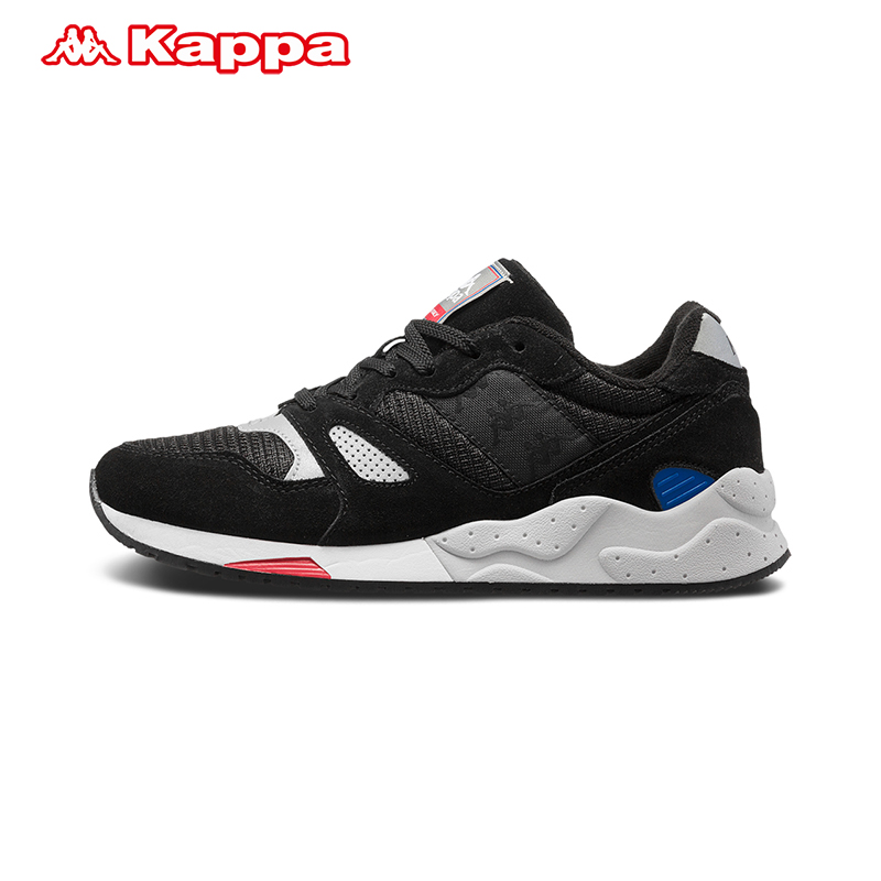 KAPPA卡帕男女运动鞋男夏季新款 情侣男女运动鞋跑鞋复古休闲鞋子