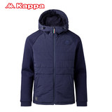 KAPPA Kappa Men's woven short section winter clothes cotton jacket jacket warm coat K0852MM01