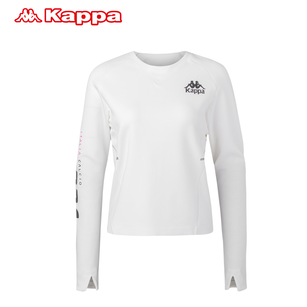Kappa 女卫衣运动服 卡帕圆领套头衫 女装长袖运动外套|K0762WT01