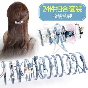 韩国小清新可爱森女系发绳发饰简约个性扎头发橡皮筋头绳发圈成人