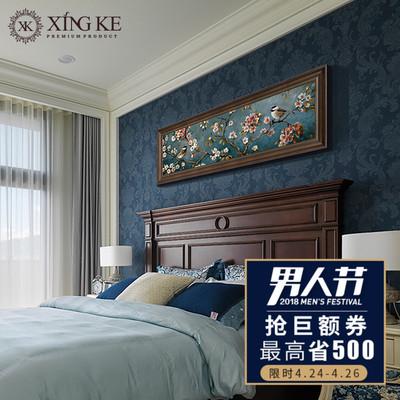 卧室床头挂画美式多少钱
