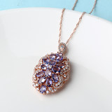 Skirt sister, strict selection, tanzanite pendant, 19062263