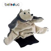 德国贝乐多beleduc狼手偶幼儿园讲故事道具动手手套玩偶大灰狼