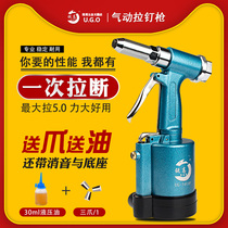 Traction pneumatique Rui Gao rivet gun pull ongles pistolet pull rivetage pistolet pull cap grab inox core tirant rivet machine outil de rivetage