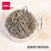 Effective paper clip bookmark storage box large paper clip financial office supplies creative cute triangle back needle difference needle medium back needle color paper clip stainless steel