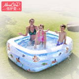 Baby care child swimming pool inflatable family thickening home child baby adult baby super large outdoor large