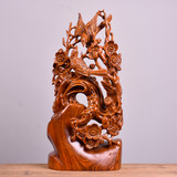 Huanghuali wood carvings, eyebrows, ornaments, root carving, mahogany crafts, home accessories, gifts, opening, moving, promotion