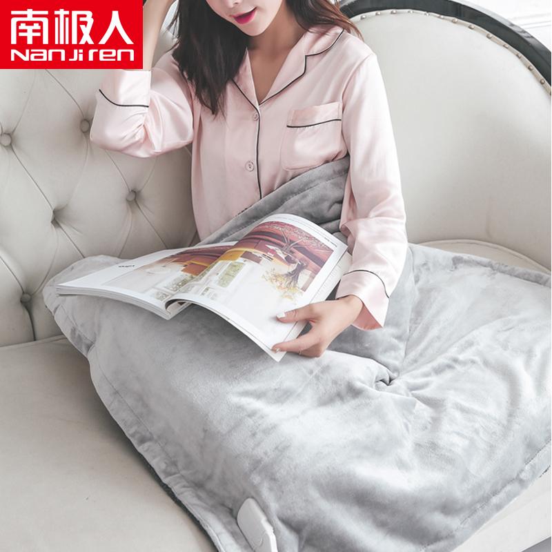 南极人多功能电暖垫暖身毯加热护膝毯多功能电热护膝毯办公可水洗