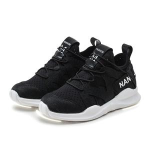 南极人儿童鞋子2018新款休闲鞋夏季网鞋透气跑步鞋男童网布运动鞋