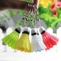 4cm仿真网球排球足球保龄球羽毛球包包挂件创意塑料彩色运动礼品